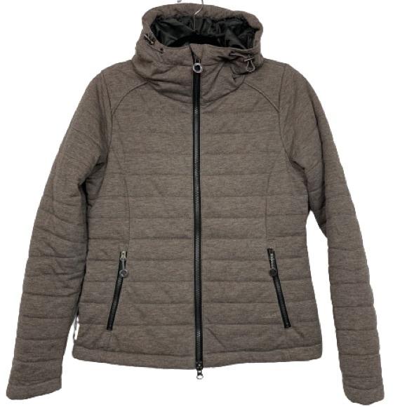 Lole Lightweight Puffer Jacket in Brown Multi